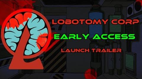 Lobotomy Corp Early Access Launch Trailer