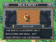 New enemy soldier