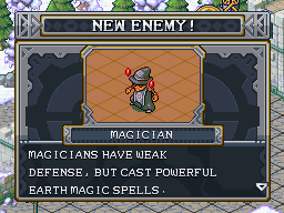 New enemy magician