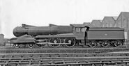 GWR King Henry VII left side view