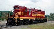 Pan Am Railways - Steam Excursions Boston & Maine No. 3713 (Boston & Maine GP9 77 2
