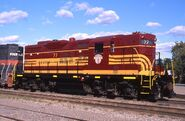 Boston and Maine GP9 77 3