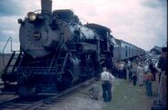 Normal cbq 4960 2-8-2 elsberry mo may 1961