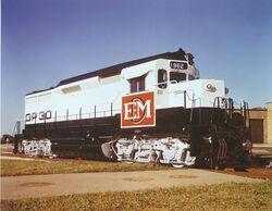 EMD GP30 Demonstrator