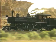The locomotive No 40