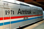 Amtrak 406's Banner