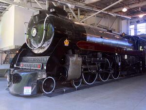 RoyalHudson2860train
