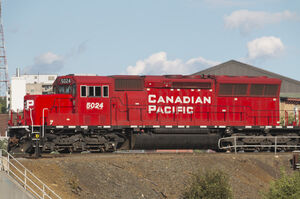 Canadian Pacific EMD SD30C-ECO locomotive 5024 left