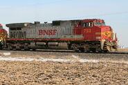 BNSF Warbonnet
