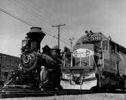 SantaFesteamanddiesellocomotives1976
