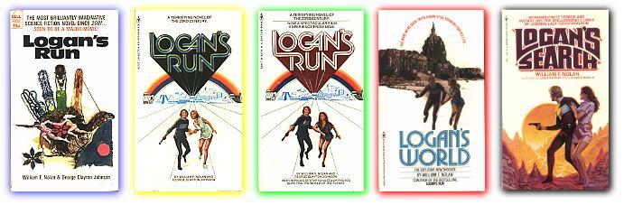 Resultado de imagem para Logan's Run books