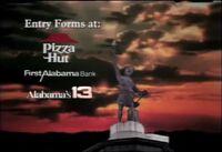 Alabama's 13 WVTM Hoop It Up promo 1992