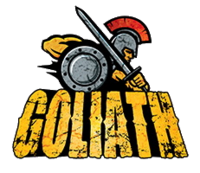 Goliath (Six Flags Great America) logo