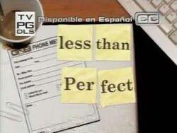 Lessthanperfect