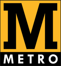 Metro logo 1998-2008