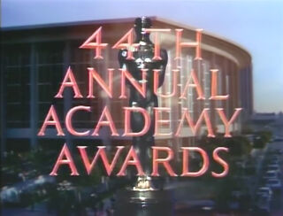 Oscars 44th tv