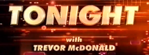 Tonight with Trevor McDonald Logo 1999-2002