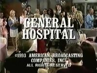 General Hospital March 1993 End Card