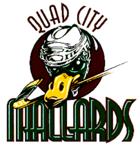 Quad City Mallards logo (1995-2001)