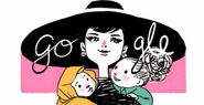 Google Audrey Hepburn's 85th Birthday (Version 5)