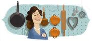 Google Julia Child's 100th Birthday (Version 3)