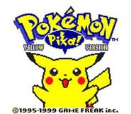 Pokemon Yellow Version GBC ScreenShot1