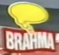 Logotipo de Oferecimento do Futebol na Globo (2003) Brahma