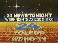 Wnwo wdho 24news tonight promo 1983b