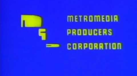 Metromedia Producers Corporation logo (1968) 2