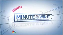 Minute To Win It NBC Intro -1