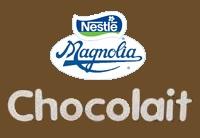 Nestle Magnolia chocolait 1996 logo
