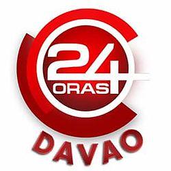 24 Oras Davao title card