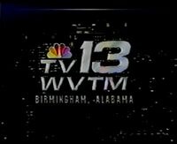 WVTM-TV 13 Birmingham 1990