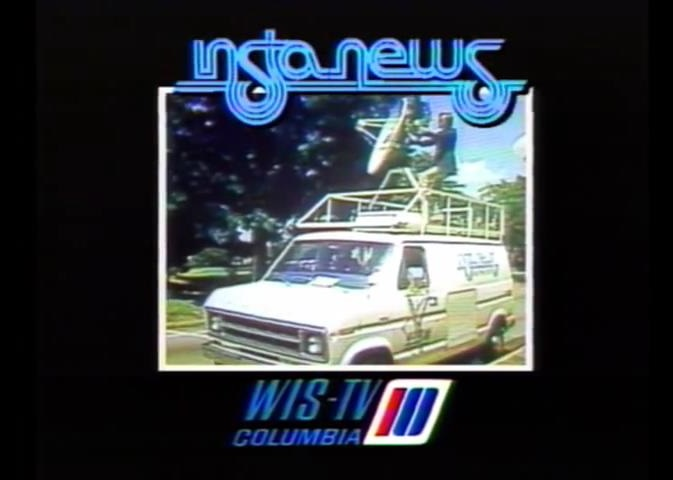 WIS-TV's WIS-TV Insta-News Video ID From 1977