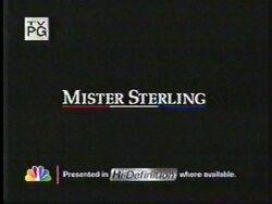 Mr Sterling