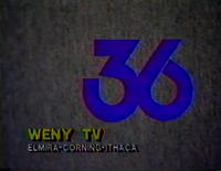 WENY-TV 1990 logo