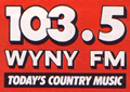 WYNY-FM's 103.5 Logo From 1984