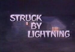 Struck By Lightning TV Title CBS 1979-500x349
