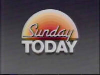 Sunday Today 1989