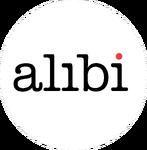 Alibi 2008-2015 logo inverted colors