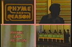 Rhyme and Reason alt