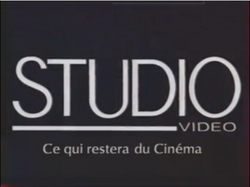 Studio Video Logo