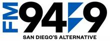 KBZT FM 949 San Diego logo