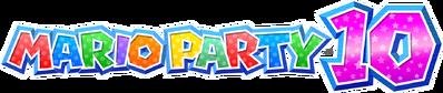 Mario Party 10 Logo Big