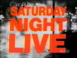 Saturday Night Live Video Open From October 3, 1981