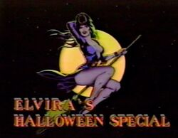 Elvira's Halloween Special Logo