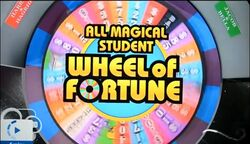 All Magical Student Wheel of Fortune