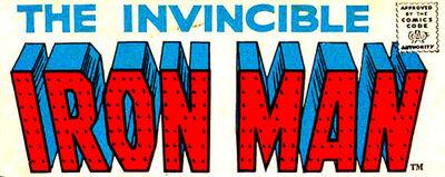 Iron Man Vol 1 Logo (Invincible Varient)