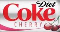 Diet Coke CHerry Logo
