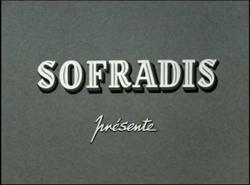 Sofradis Présente 1952 Logo